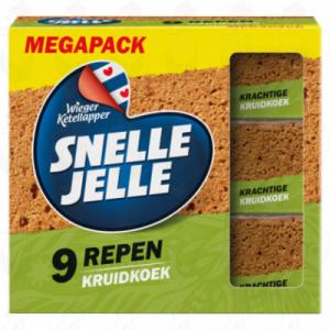 Snelle Jelle Kruidkoek Naturel Mega 9-Pack