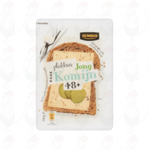 Huismerk Jong Komijn Plakken Kaas 48+ 190g