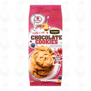 Huismerk Chocolate Cookies Melk & Wit 8 Stuks 200g
