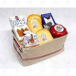 Burlap Dutch cheese bag