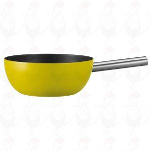 Spring Alu induction fondue pot, Yellow