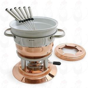 Swissmar Lausanne Copper fondue set