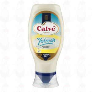 Calvé Saus Squeeze Yofresh 430ml