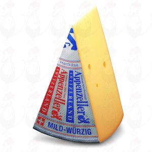 Appenzeller Silver - Classic | Entire cheese 6.8 kilos / 14.96 lbs