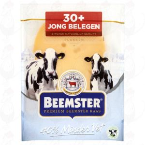 Sliced cheese Beemster Semi-Matured Premium 30+ | 150 grams in slices