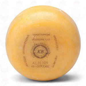 Gouda Natural Pounds Farmers Cheese | +/- 400 grammes / 0.88 lbs