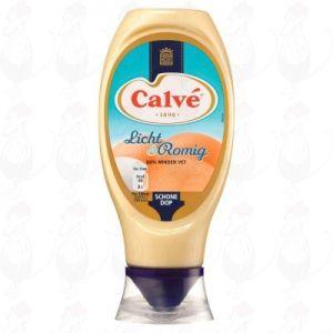 Calvé Saus Squeeze Mayonaise Licht & Romig 430ml