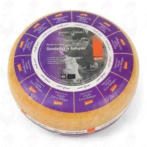 Extra Matured Gouda Biodynamic cheese - Demeter   Entire cheese 11 kilo / 24.2 lbs