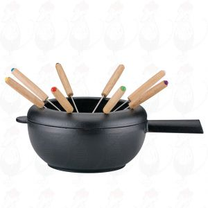 Fondue Pot Saas-Fee | Black
