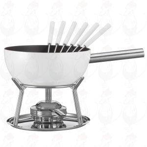 Cheese Fondue Set Spring Alu induction White