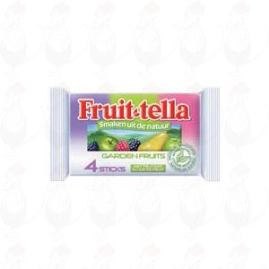 Fruittella Garden fruits 4 sticks x 10 stuks