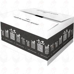 Lähetyslaatikko – Yllätyslahjalaatikko, musta