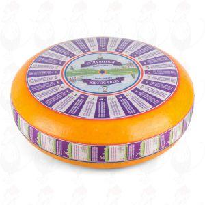 Täysin kypsä Gouda-juusto | Korkealuokkainen | Kokonaiset juusto +/- 11 kilo