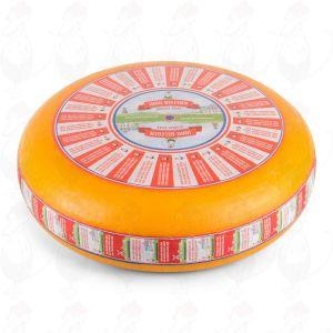 Puolikypsä Gouda-juusto | Korkealuokkainen | Kokonaiset juusto +/- 12 kilo