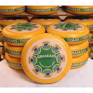 Ruohojuusto - Gouda 2018 | Kokonaiset juusto 12 kilo