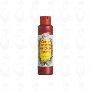 Hela Curry kruiden ketchup original 500ml