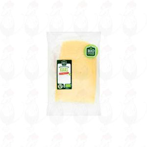 Sliced Organic Cheese Semi-Matured 50+ | 200 grams in slices