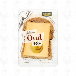 Sliced Gouda Cheese Old 48+ | 190 grams in slices
