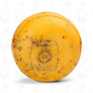Gouda Cumin Pounds Farmers Cheese | +/- 400 grammes / 0.88 lbs
