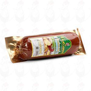 Savustettu Gouda-juusto | Korkealuokkainen makkarapaketissa | 500 grammaa