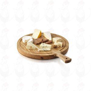 Cheese Board Friends L, Ø 40 cm - 15.75 inch