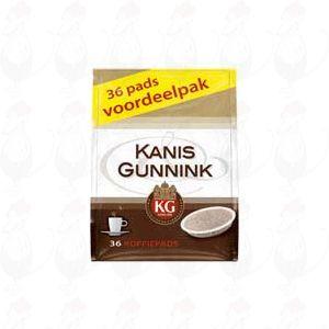 Kanis & Gunnink Koffiepads regular 36 stuks