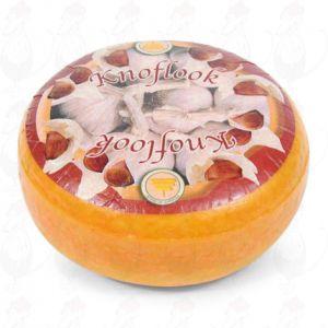 Valkosipulijuusto - Kokonaiset juusto +/- 4,5 kilo