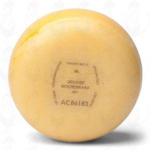 Gouda Natural Farmers Cheese Lunch   +/- 900 grammes / 2 lbs