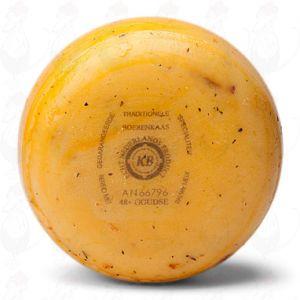 Gouda Tomaatti-oliivi-maalaislounasjuusto +/- 900 grammaa