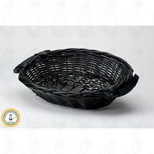 Juustokori, musta 38x28x8