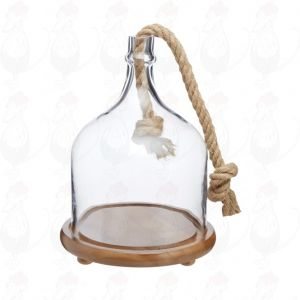 Artesà Serving Cloche (Glass) , 25x34cm
