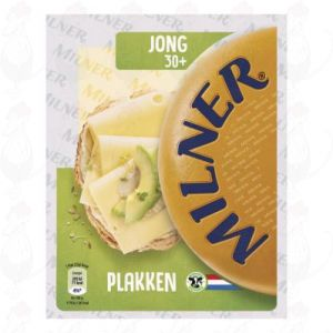 Sliced Milner Cheese Young 30+ | 175 grams in slices