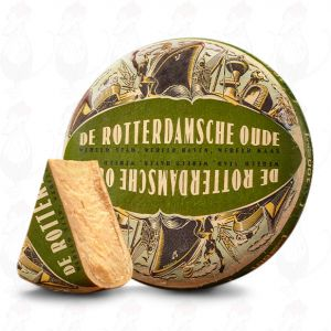 Rotterdamsche Oude 100 weeks | Entire cheese 12 kilo / 26.4 lbs