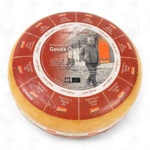Old Gouda Organic Biodynamic cheese - Demeter   Entire cheese 10 kilo / 22 lbs