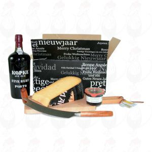 Port Gift with extra quality Dutch Cheese