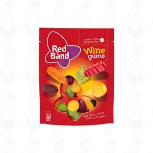Red Band Wine Gums 305 gram