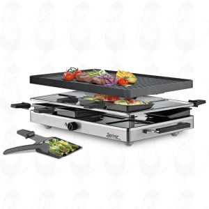 Spring - Raclette8 classic aluminum grill plate