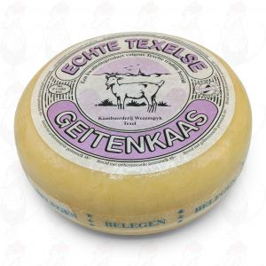 Texel Goats Cheese Matured | Entire cheese 3,6 kilo / 7,9 lbs