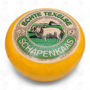 Texel Sheep Cheese Young Matured | Entire cheese 3,6 kilo / 7,9 lbs