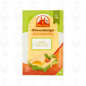 Sliced cheese Wilmersburger with Herbs | 150 grams in slices