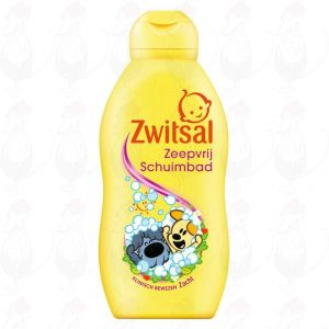 Zwitsal Baby Woezel & Pip Badschuim 200ml