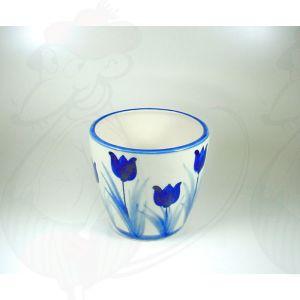 Delft Blauwe Vaas Pot Tulp 12 x 14