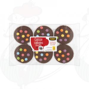 Huismerk Caisse Cakejes Chocolade 240g