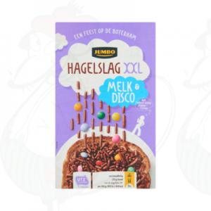 Jumbo Hagelslag XXL Melk & Disco 380g