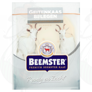 Sliced cheese Beemster Goats cheese 50+ | 125 grams in slices