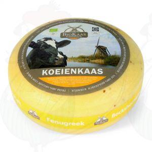 Ekologinen sarviapilajuusto | Kokonaiset juusto +/- 5,4 kilo