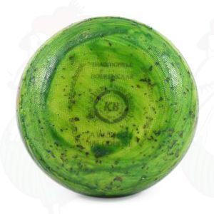 Gouda Paunamittainen vihreä pesto maalaisjuusto | Korkealuokkainen | +/- 400 grammaa