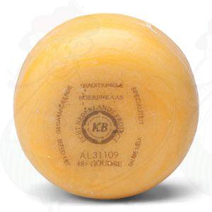 Gouda Natural Pounds Farmers Cheese   +/- 400 grammes / 0.88 lbs