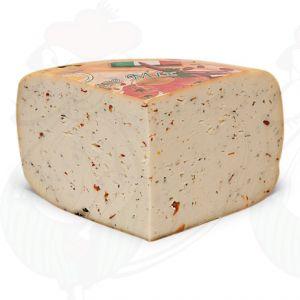 Tomaatti/oliivi/yrtti Gouda-juusto | Korkealuokkainen
