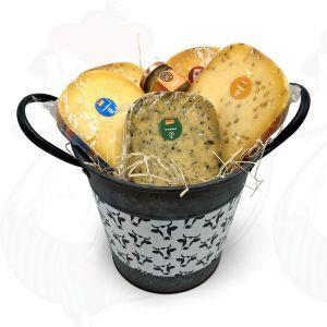 Bucket of Organic Cheese